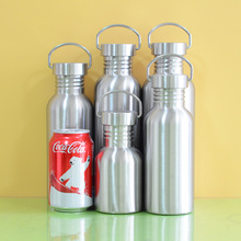 BPA Free Full Stainless Steel Water Bottle Leak-proof Jar Sports Flask for Yoga Biking Camping Hiking Travel Outdoor(China)