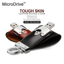 Real capacity Leather USB flash drive 64GB 32G 16G 8G Pen Drive Pendrive Flash Drive Card Memory Stick Drive