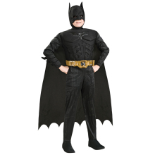 New Arrival Kids Deluxe Muscle Dark Knight Batman Child Halloween Party Fancy Dress Boys Superhero Carnival Cosplay Costume(China)
