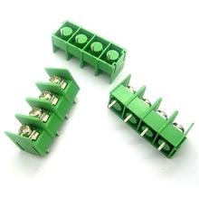 10Pcs KF7.62-4P 7.62mm pitch connector pcb screw terminal block connector 4pin