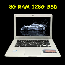 1920X1080 FHD Scree 8GB Ram+128GB SSD Windows 7/8/10 system Ultrathin Quad Core J1900 Fast Boot Laptop Notebook Netbook Computer(China)