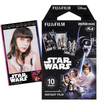 Fujifilm Fuji Instax Mini Film Star Wars 10 Sheets Photo Paper For Instant Mini 8 70 7s 50s 25 Neo 90 300  Camera Share SP-2