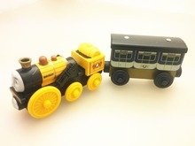 RARE NEW rocket stephen and stephen's coach ORIGINAL wooden Thomas and friend train Chinldren child kids