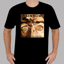 Custom Printed Tee Shirts Rainbow Straight Between The Eyes Rock Legend 3D Printed High Quality Tee Shirt Short(China)