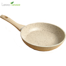Medical Stone Frying Pan Lemorange 20cm Non-stick Healthy Eggs Pot General Use For Gas And Induction Cooker TQQ0014