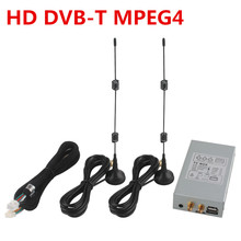 External Special HD DVB-T MPEG4 Digital TV Box With Dual Antenna for Ownice Car DVD Player For Europe Area