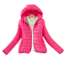 2017 children clothing winter girls jackets and coat cotton padded teenage girls winter coat hooded solid kids outwear snowsuit