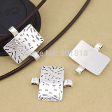 10pcs/lot jewelry connector Antique silver Color Alloy Pendant connectors Jewelry Findings  F1068