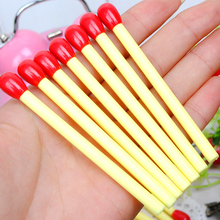 5 PCS Novelty Cute Matchstick Ballpoint Pen Mini Pens Kawaii Stationery Canetas Escolar Material Supplies Papelaria(China)