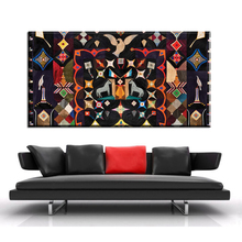 xh609  american folk art quilts wall decor canvas prints art painting home decor unframed