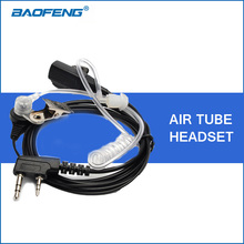 Acoustic Air Tube Headset Earpiece for Baofeng UV-5R UV-5RA UV-5RE Plus 888S Portable Walkie Talkie Accessories Two Way CB Radio(China)