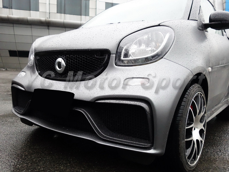 2015-2017 Smart Fortwo C453 & Forfour W453 AMG Style Body Kit PCF (49)