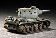TRUMPETER 07266  1/72  German Pz.kpfw KV-2 754( r )tank Assembly Model kits scale model  3D puzzle vehicle model