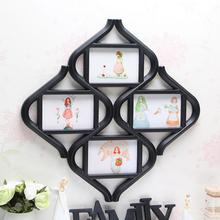 1PC Creative diamond Photo frame Chinese knot creative combination Photo Frames plastic Photo Frames SE4D5
