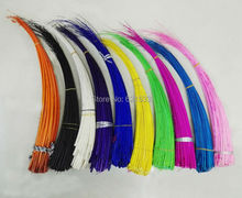 100Pcs/lot!Large Ostrich Quills Spines for Millinery Hat trimmings fascinators Supplies 45~50cm long, 11colors for choice