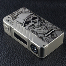 Original DOVPO MVV M VV Electronic Cigerette Box Mod 280w vape mod Flagship Edition Skeleton pattern Vape 18650 mechanical mods(China)