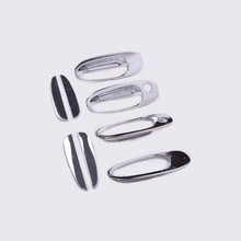 For Toyota Corolla 1993 - 1997 Toyota RAV4 1996 - 2000 New Chrome Car Door Handle Cover Trim overlays(China)