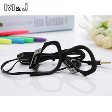 M&J M05 3.5mm Super Bass Wired Sport Headphone Stereo Running Headsets With Microphone For PC Iphone Samsung Xiaomi(China)