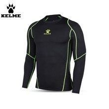 Kelme K15Z708 Homens Respirável Fina Manga Comprida Calças Justas Preto  Verde Fluorescente em Camisas de futebol de Sports   Entretenimento no ... 72effbdd5f178