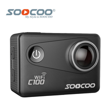 SOOCOO C100 4K Wifi NTK96660 30M Waterproof Action Sports Camera Built-in Gyro with GPS Extension(GPS Model is option)
