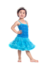 baby fashion rosette dresses children baby dress for girls factory direct sale made in china RDS007