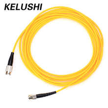 KELUSHI Single mode FC-ST Simplex Optic Fiber Patch Cord  Jumper Cable Optic Connector/ JUMPER PC SM 3m FTTH 3m