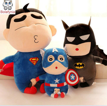 Crayon Superman Batman doll cute funny children plush toys