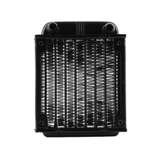 NEW 1Pc 80mm black Aluminum Computer Radiator Water Cooling Cooler Fans Heat Exchanger  for CPU