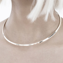 New fashion jewelry simple metal torques collar necklace gift for women girl N1799