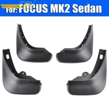 FIT FOR FORD FOCUS 2 MK2 MK2.5 SALOON SEDAN 2005-2011 MUDFLAPS MUD FLAP SPLASH GUARDS FRONT REAR FENDER 2006 2007 2008 2009 2010
