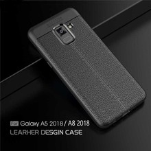 VOONGOSN For Samsung Galaxy A8 2018 Case Anti Slip Soft Silicone Case Protective ShockProof Phone Cover For Samsung A5 2018 A530(China)