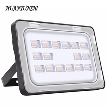 Led Flood Light 50W 220V Waterproof IP65 Ultrathin Floodlight Spotlight Outdoor Lighting LED Reflector Lamp Garden Garage Light(China)