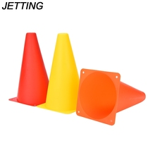 "JETTING 1Pc 9"" Anti-Wind Skate Agility training Marker Agility Football Training Cones Soccer Sports Field Drill Markers"