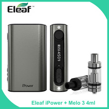 Buy 100% Original Eleaf iStick Power 80W TC Mod 5000mAh Built-in Battery Melo 3 Atomizer 4ml Tank Capacity iPower Vape Kit for $45.59 in AliExpress store
