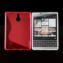 Soft S Line Case for Blackberry passport silver edition Gel Cover Skin 1pc(China)