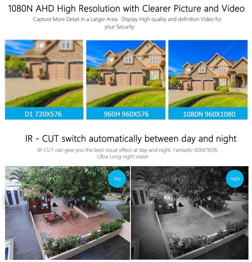 DVR kit Security Surveillance camera