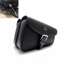 Motorbike Saddlebags PU Leather Swingarm Bag Saddle Bags Side Tool Bags Storage For Sportster