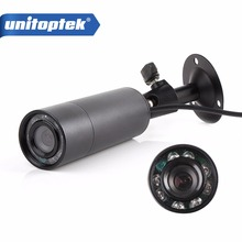 Mini Outdoor Invisible 8 IR 940nm 0 lux Nightvision Sony Effio-E 700TVL Mini Bullet CCTV Camera For 960H D1 DVR