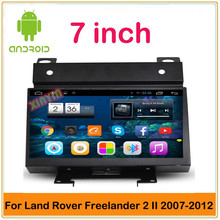 HD1024*600 Android Car DVD player for Land Rover Freelander 2 II with GPS BT mirror link 3G wifi free shipping map