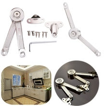 Alloy Cabinet Cupborad Door Stays Wardrobe Lift Up Lid Support Hinge Damper DIY Door Tools