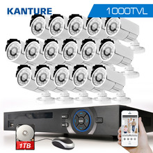 16Channel AHD HDMI 1080P dvr system 16xCMOS 1000TVL outdoor security Surveillance camera kit 16ch 1080P NVR USB WIFi dvr 1tb 2tb