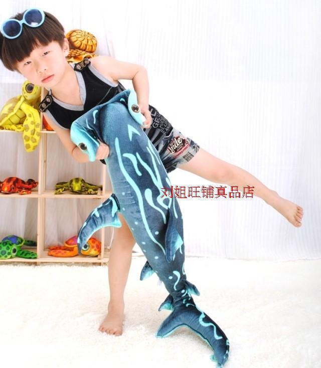 stuffed animal 100cm Hammerhead Shark plush toy doll gift w4257<br>