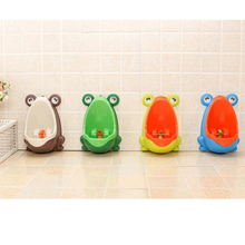Pinico Kids Urinal for Boys Baby Potty Penguin/Frog Children's Toilet Training Urinal-boy Stand Hook Pee Trainers Pots Penico(China)