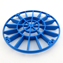 2pcs/lot J408 Large Size Blue Plastic Wheel Propeller Model Amtrac Making Wheel DIY Solar Energy Ship Free Shipping Russia