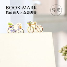 150 pcs/1 lot Cartoon Seventeen year old bike Paper bookmarks for books/Share/book markers/tab for books/stationery W-SQ-259(China)