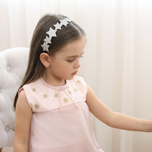 Buy New Cute Glitter Stars Hairband girls lovely heart Kids PU Hair band Headwear Hair Accessories Felt Headband hair ornaments for $2.65 in AliExpress store