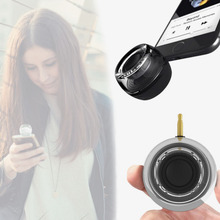 High Quality Business Casual Mobile Phone Speakers 3.5mm Port Mini Outdoor Portable Stereo Small Speakers Music Player Stereo