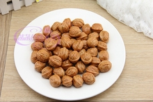 Good Design Simulation Plastic Small Walnut Fake Dried Fruits Children Early Learning Photography Equipment Home Decoration PL(China)