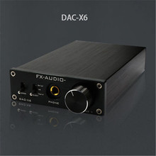FX-Audio Feixiang DAC-X6 HiFi amp Optical/Coaxial/USB DAC Mini Home Digital Audio Decoder Amplifier 24BIT/192 12V Power Supply