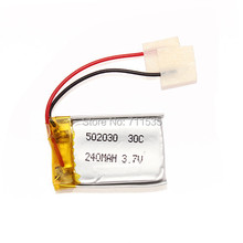Wholesale 3.7V 240mAh 30C LiPo Battery RC Battery For Syma S107 S108 S109 S026 SH 6020 6021 6022 6023 RC Helicopter